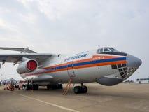 Salon de l'aéronautique Photos libres de droits