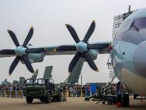 Salon de l'aéronautique Images stock