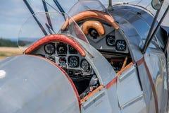 Salon de l'aéronautique annuel de Criterium à l'aéroport de Rozas images libres de droits