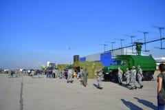 Salon de l'aéronautique antimissile Sofia, Bulgarie d'équipement Photographie stock
