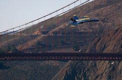 Salon de l'aéronautique d'anges bleus Photos libres de droits