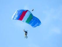 Salon de l'aéronautique de parachutistes Tirrenia, Pise, Italie, le 11 septembre 2016 Image stock