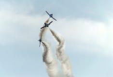 Salon de l'aéronautique 2014 de Rome Photos stock