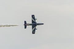 Salon de l'aéronautique 2014 de Rome Photographie stock libre de droits