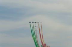 Salon de l'aéronautique 2014 de Rome Image libre de droits
