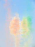 Salon de l'aéronautique tricolore de flèches Tirrenia, Pise, Italie, le 11 septembre, 2 image libre de droits