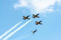 Salon de l'aéronautique 2013, Radom le 30 août 2013 Images libres de droits