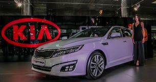 Salon de l'Auto 2013 de Stolichnoe à Kiev Images stock