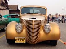 Salon de l'Auto des voitures classiques et rétros Photographie stock libre de droits