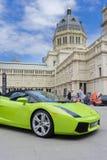 Salon de l'Automobile à Melbourne images stock