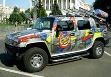 Salon de l'Automobile Images libres de droits