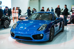 Salon de l'Automobile Poznan 2014 image stock