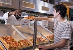 Salon de pizza image libre de droits