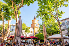Salon-de-Provence city in France Stock Image