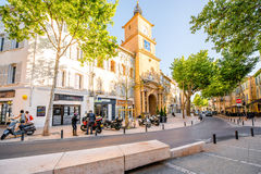 Salon-de-Provence city in France Stock Images