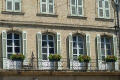 Salon de Provence (França): palácio histórico imagens de stock