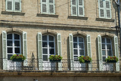 Salon-de-Provence (France): historic palace Stock Images