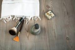 Salon de station thermale Photographie stock
