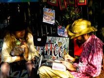 Salon de tatouage sur la rue à la Nouvelle-Orléans Photo libre de droits