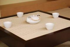 Salon de thé japonais Images libres de droits