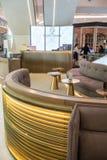 Salon de touristes chez Emquartier, Bangkok, Thaïlande, le 8 mars 2018 Image libre de droits