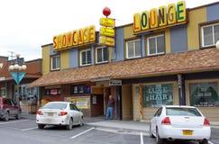 Salon du centre d'épines de l'Alaska Seward Image stock
