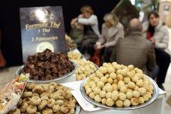 The salon du chocolat Stock Photos