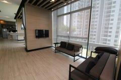 Salon en appartement de luxe Photographie stock libre de droits