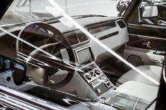 Salon exclusive retro expensive car Stock Photo