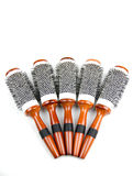Salon hair brush Royalty Free Stock Image
