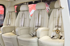 Salon of helicopter Royalty Free Stock Images