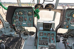 Salon of helicopter Mi-8 Stock Image