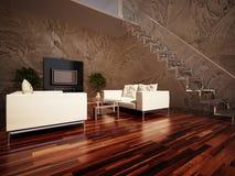Salon intérieur Photo libre de droits