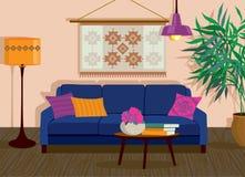 Salon intérieur Image stock