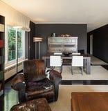 Salon intérieur et confortable photographie stock