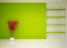 Salon intérieur moderne vide, salon Photo stock