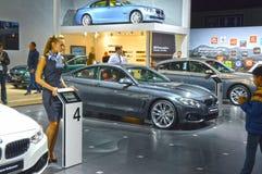 Salon international BMW d'automobile de Moscou Image libre de droits