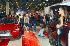 Salon international Lexus d'automobile de Moscou Photos libres de droits