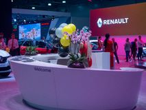 Salon international MMAS 2018 d'automobile de Moscou images stock