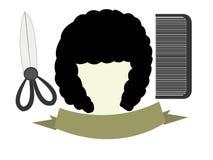 Salon logo royalty free illustration