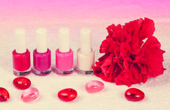 Salon for manicure Royalty Free Stock Images