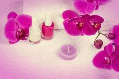Salon for manicure Royalty Free Stock Photography