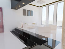 Salon moderne. Image libre de droits