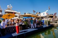 Salon nautique d'International de Miami photos stock