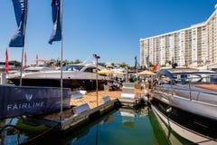 Salon nautique d'International de Miami Photographie stock libre de droits