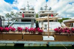 Salon nautique d'International de Miami photos libres de droits