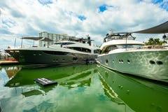 Salon nautique d'International de Miami photo libre de droits