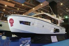 Salon nautique du CNR l'Eurasie Images libres de droits
