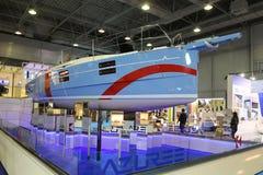 Salon nautique du CNR l'Eurasie Photo stock