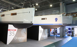 Salon nautique du CNR l'Eurasie Photographie stock libre de droits
